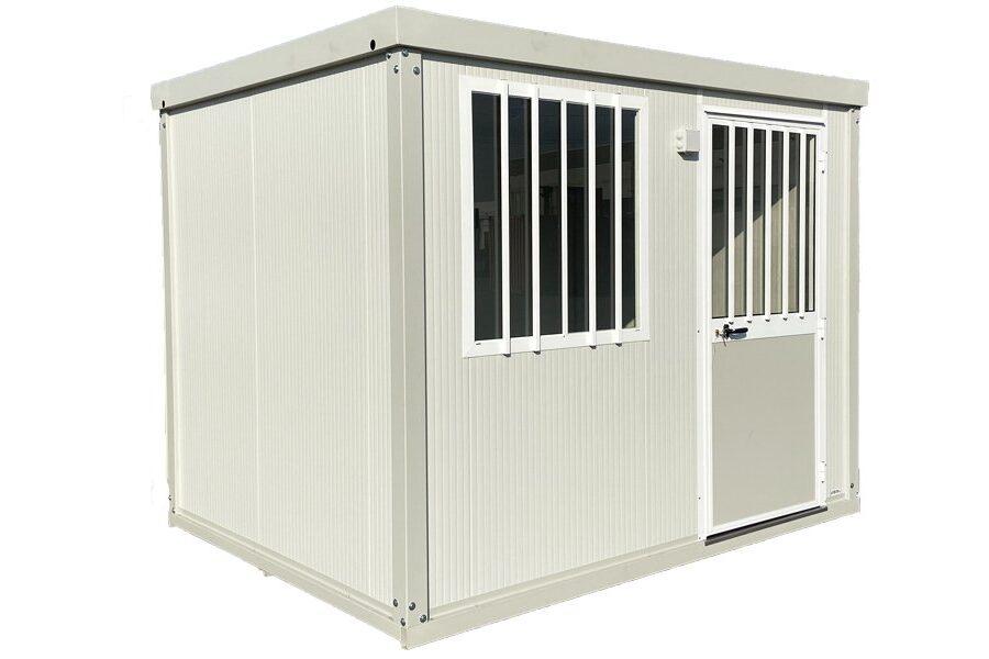 Container mit Bad und Dusche 3m