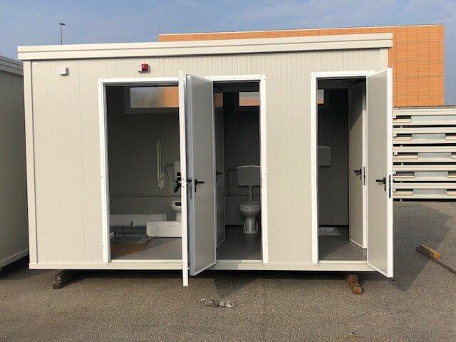 Sanitär-Container für Behinderte D3