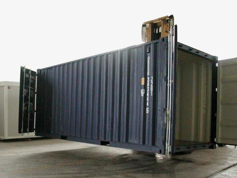 Seecontainer 20' Doppeltür