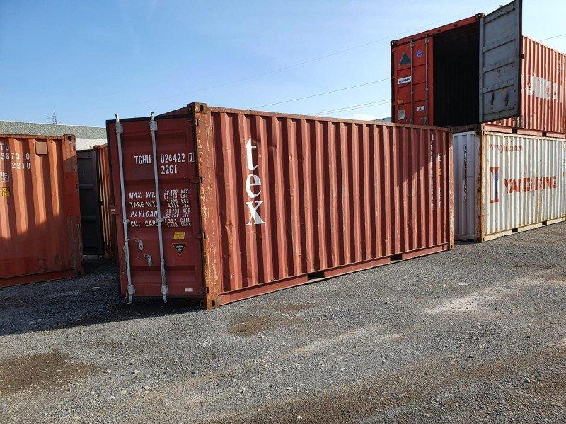 Seecontainer 20' Gebraucht - Last Trip
